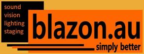 blazon.au sound vision lighting staging